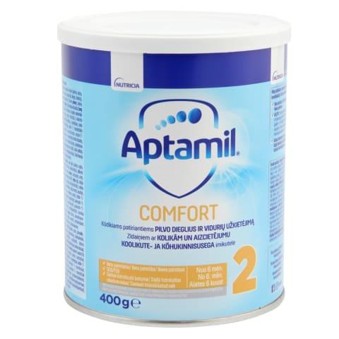 Piena mais. Aptamil Comfort 2 no 6 mēn. 400g