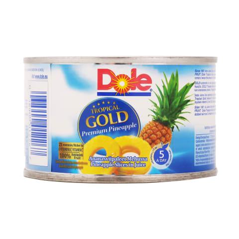 Ananasų griežinėliai sultyse, DOLE, 227g