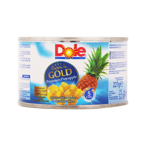 Ananasų gabaliukai sultyse, DOLE, 227g