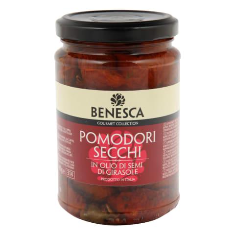 Päikesekuivatatud tomatid õlis Benesca 290g