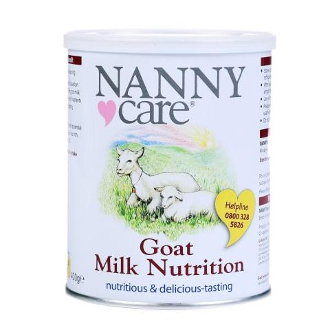 Kazas piena maisījums Nanny Care no dz. 400g