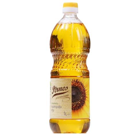 Saulespuķu eļļa Pērnes Premium nerafinēta 1l