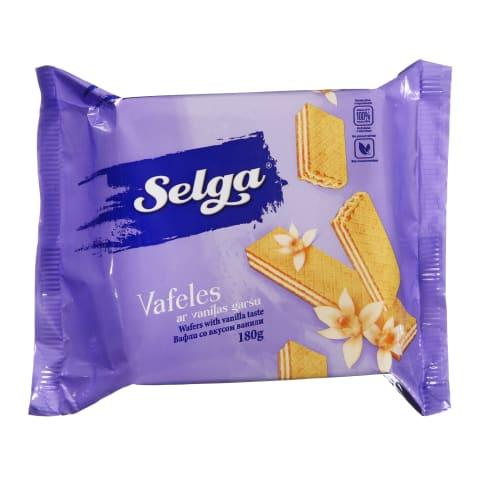 Vaniliniai vafliai SELGA, 180 g