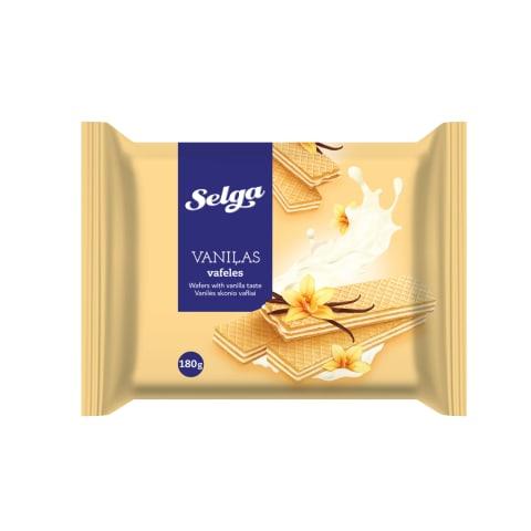 Vafeles Selga ar vaniļas garšu 180g