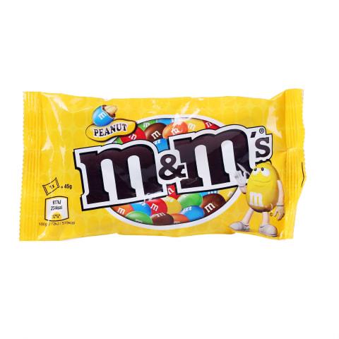 Dražejas M&M's ar zemesriekstiem 45g