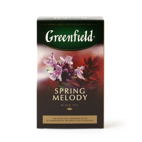 Melnā tēja Greenfield Spring Melody 100g