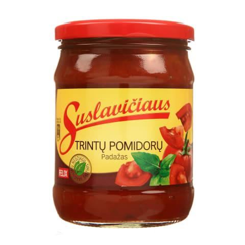 Trintų pomidorų padažas SUSLAVIČIAUS, 500g