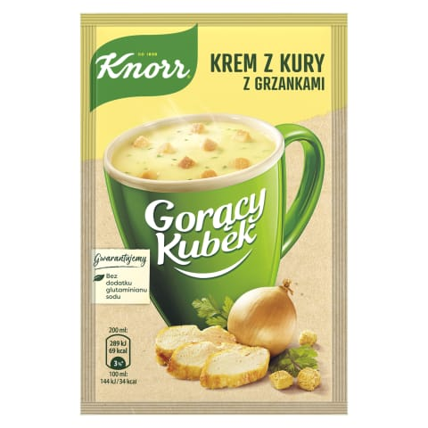 Sausā zupa Knorr vistas 16g