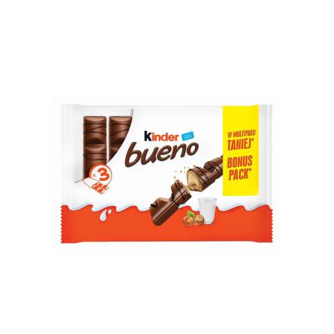 Piena šokolāde Kinder Bueno 3x43g