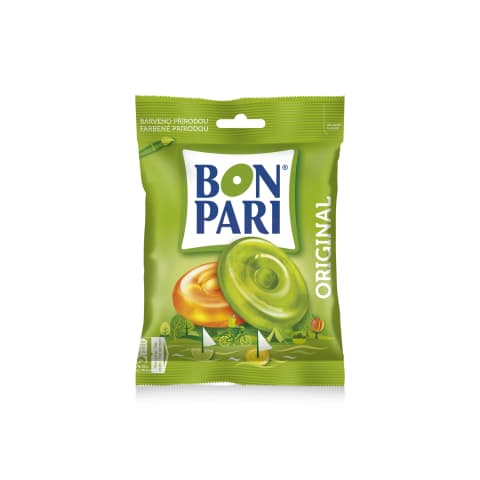 Karamellid puuvilja Bon Pari Original 90g