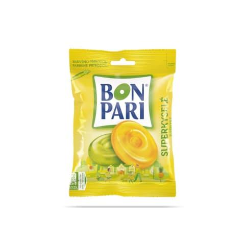 Karameles Bon Pari skābās ar augļu garšu 90g
