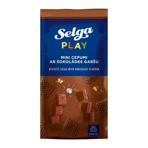 Cepumi Selga ar šokolādes garšu 250g