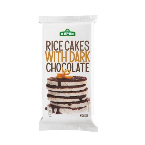 Rīsu galetes Kupiec ar rūgtu šokolādi 90g
