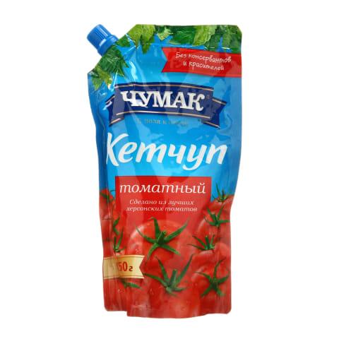 Paster.pomidor.kečupas su sald., CHUMAK, 450g