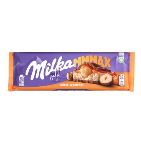 Piena šokolāde Milka Toffee ar riekstiem 300g