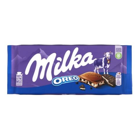 Piena šokolāde Milka Oreo 100g