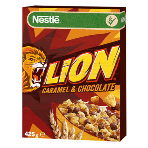Brokastu pārslas Nestle Lion 425g