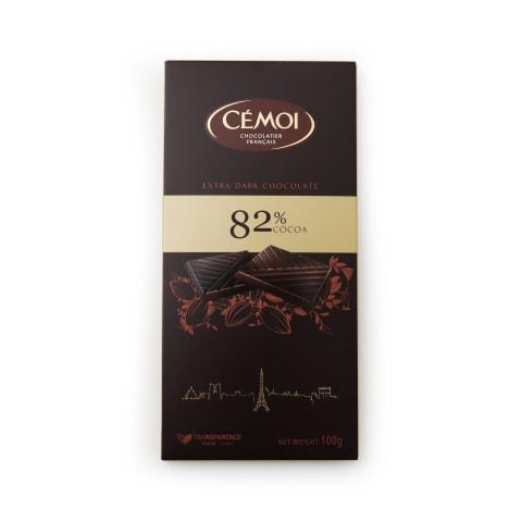 Rūgtā šokolāde Cemoi 82% 100g