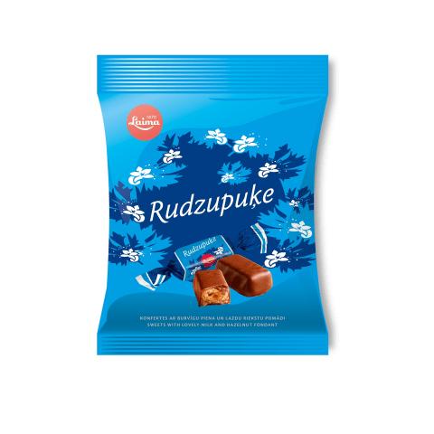 Šokolādes konfektes Rudzupuķe 160g