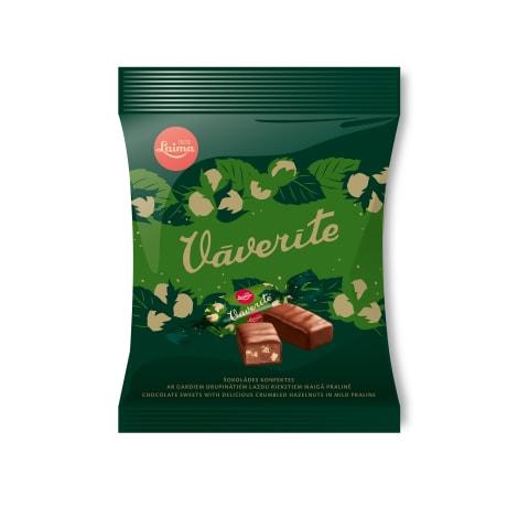 Šokolādes konfektes Vāverīte 160g