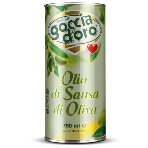 Olīveļļa Goccia D`Oro Pomace izspaidu 750ml