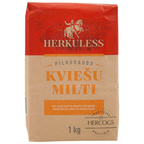 Pilngraudu kviešu milti Herkuless 1kg