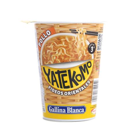 Nūdeles Yatekomo ar vistas gaļu ātri pag. 60g