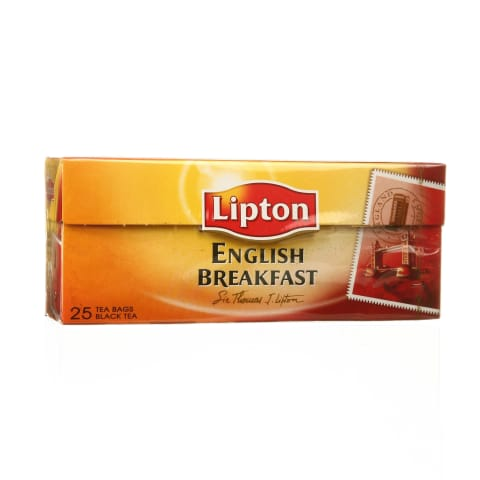 J. arbata LIPTON ENGLISH BREAKFAST, 25 pak.