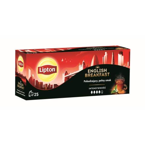 Melnā tēja Lipton English Breakfast 25x1,8g