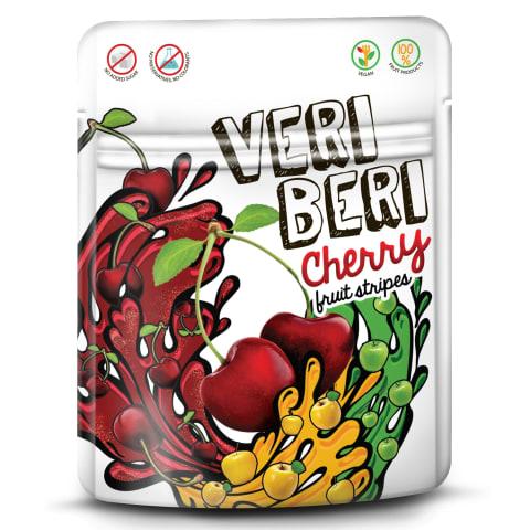 Saldžios vyšninės juostelės VERI BERI, 50g
