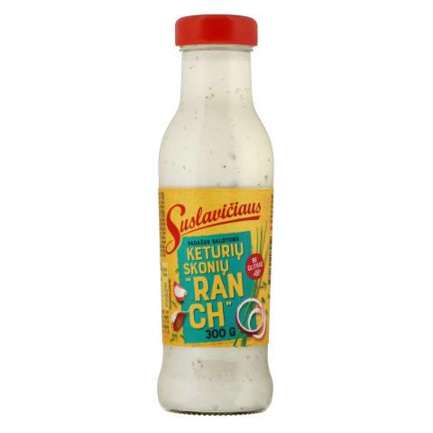 SUSLAVIČIAUS padažas su alyv.al.citr., 400g