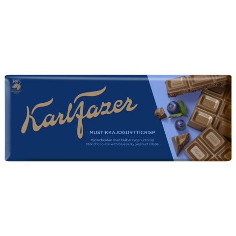 Šokolāde Fazer ar melleņu kraukšķiem 190g