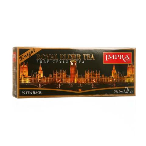 Juod. arbata IMPRA ROYAL ELIXIR, 25 vnt., 50g