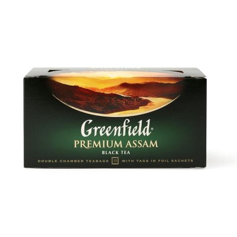 Melnā tēja Greenfield Premium Assam 25x2g