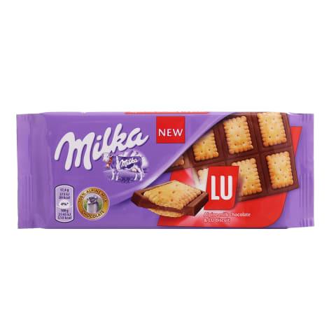 Šokolāde Milka Biscuits Lu 87g