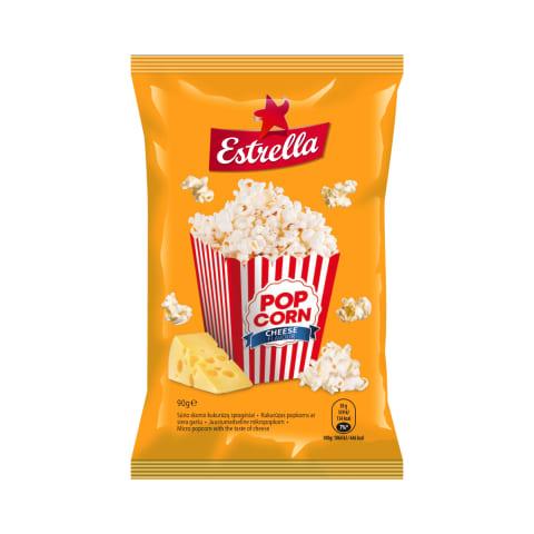 Sūrio sk. kukurūzų spragėsiai ESTRELLA, 90g