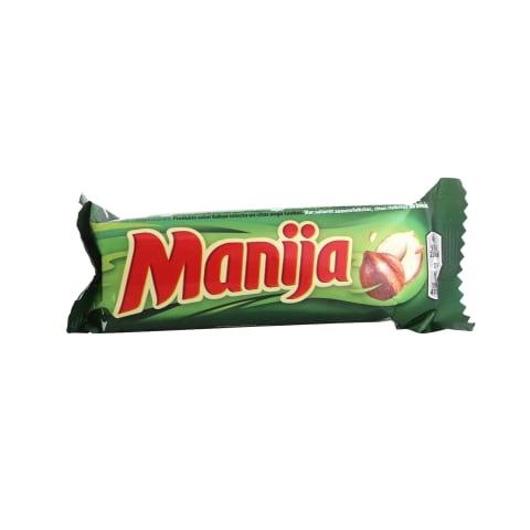 Šokolādes batoniņš Manija lazdu riekstu 49g