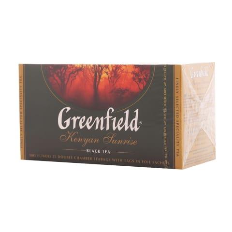 Juod. arbata GREENFIELD KENYAN SUNRISE, 25pak