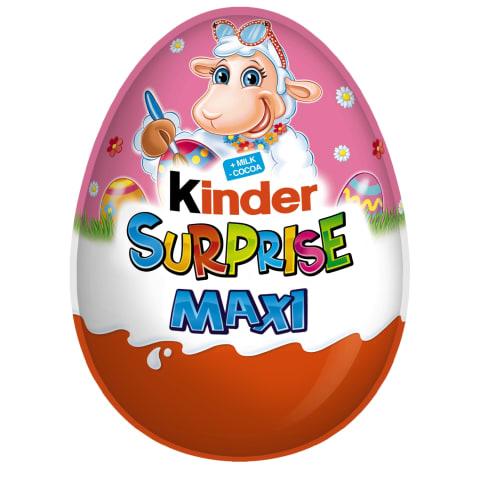 Šokolādes ola Kinder Surprise maxi pink 100g