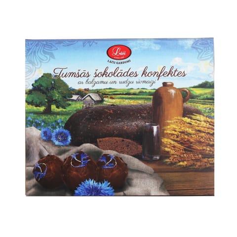 Šokolādes konfektes Lāči ar balzamu 192g