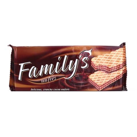 Vafeles Family's ar kakao 180g