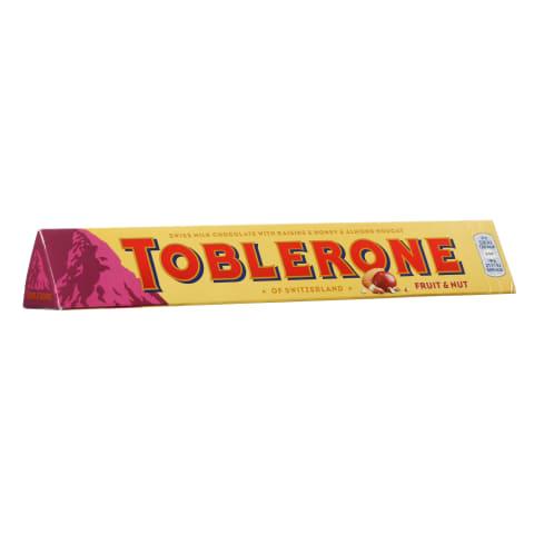 Piena šok. Toblerone riek. rozīn. 100g
