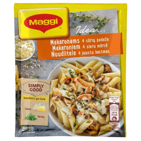 Garšvielu maisījums Maggi Idea 4 sieru 34g