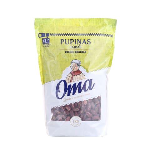 Pupiņas Oma raibas 1kg