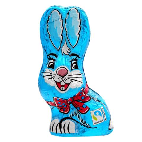 Piena šokolāde Sitting Bunny Blue 60g