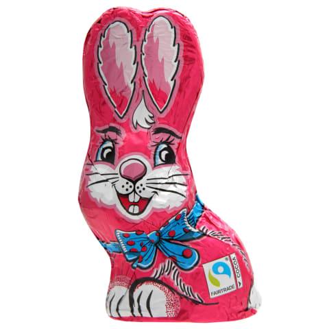 Piena šokolāde Sitting Bunny Pink 60g