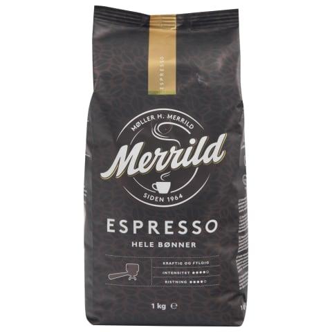 Kafijas pupiņas Merrild Espresso 1kg