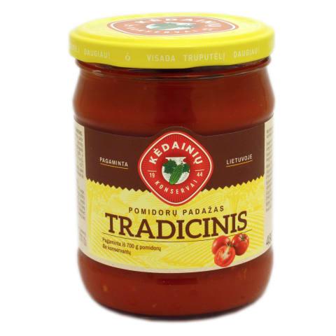 TRADICINIS pomidorų padažas, 480g