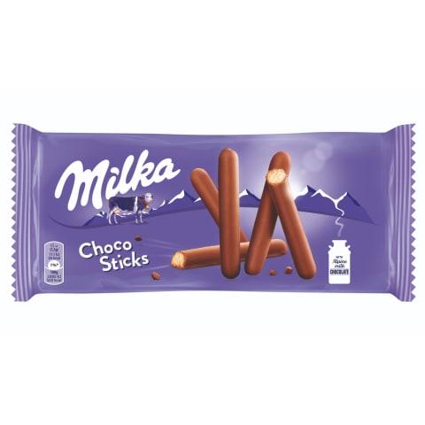 Küpsised šokolaadis Milka Choco Stix 112g