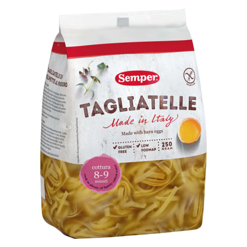 Pasta Tagliatelle munaga glut.vaba 250g